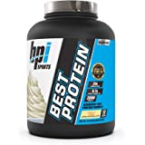 BPI Sports Best Protein – 100% Whey Protein Blend – Muscle Growth, Recovery, Meal Replacement – No Maltodextrin, No…