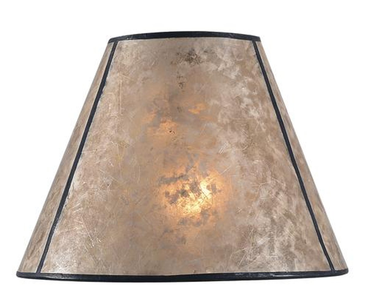 Tapered Lamp Replacement Shade - Durable Drum Shape Hardback Lampshade 10'' H x 10'' W x 7.5'' D Small