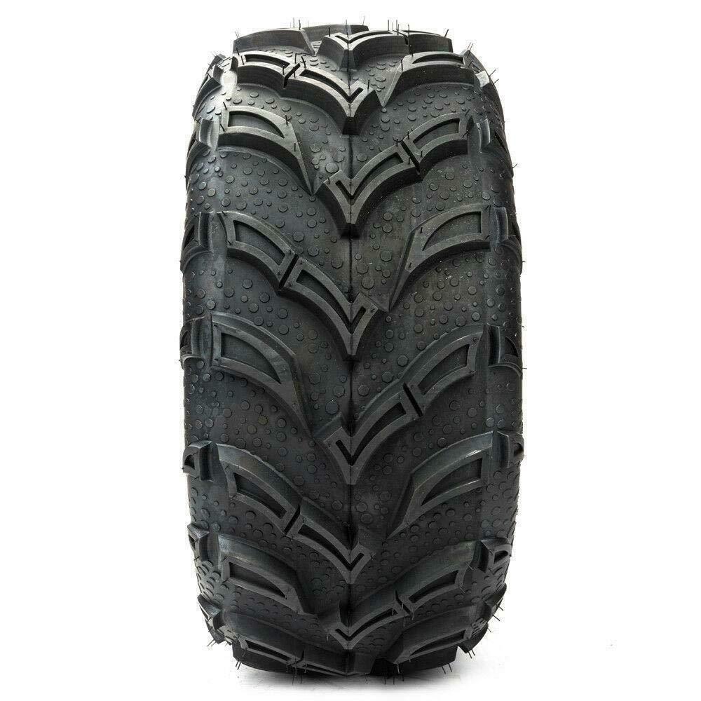 1 PC ATV UTV Tires 25x10-12 25-10-12 25x10x12 Rear 6PR P377 All Terrain Tubeless