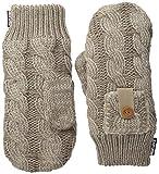 Muk Luks Women's Winter Mittens, Taupe, One Size