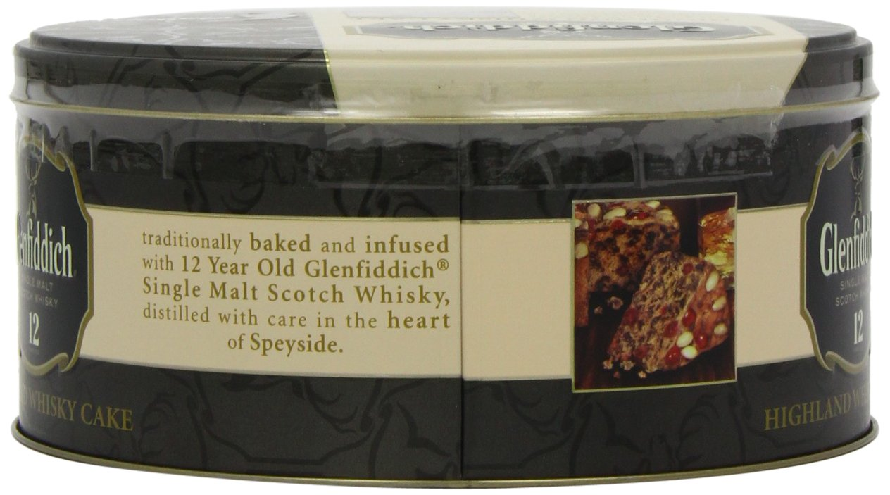 Walkers Shortbread Glenfiddich Highland Whisky Cake, 28.2 Ounce Tin Traditional Scottish Fruit Cake with Glenfiddich Malt Whisky, Cherries, Sultanas by Walkers Shortbread (Image #8)
