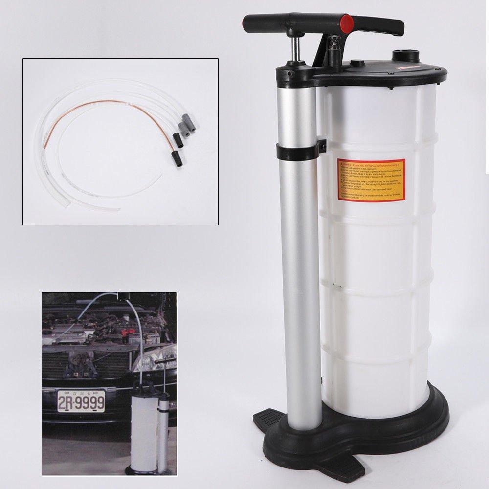 Bomba de Transferencia de Combustible de Gasolina Gasolina con Manual de Funcionamiento SHIOUCY 9L Bomba extractora de Aceite Profesional Combustible de Coche Extractor de vac/ío Manual succi/ón