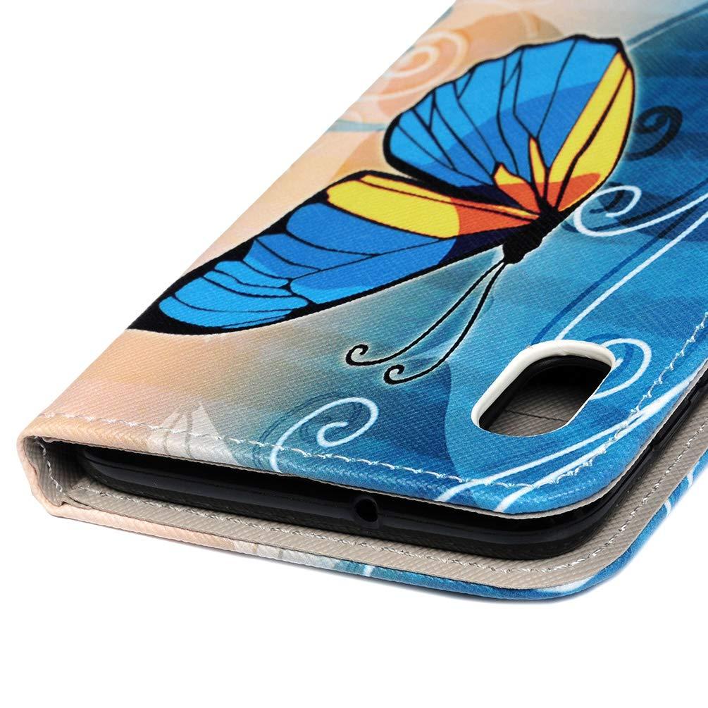 VoguSaNa Kompatible f/ür Handyh/ülle Samsung Galaxy A10 H/ülle Wallet Case Flip Cover Leder Tasche Malen Muster Schutzh/ülle Handytasche Flipcase Skin St/änder Klapph/ülle Schale Bumper Etui-England
