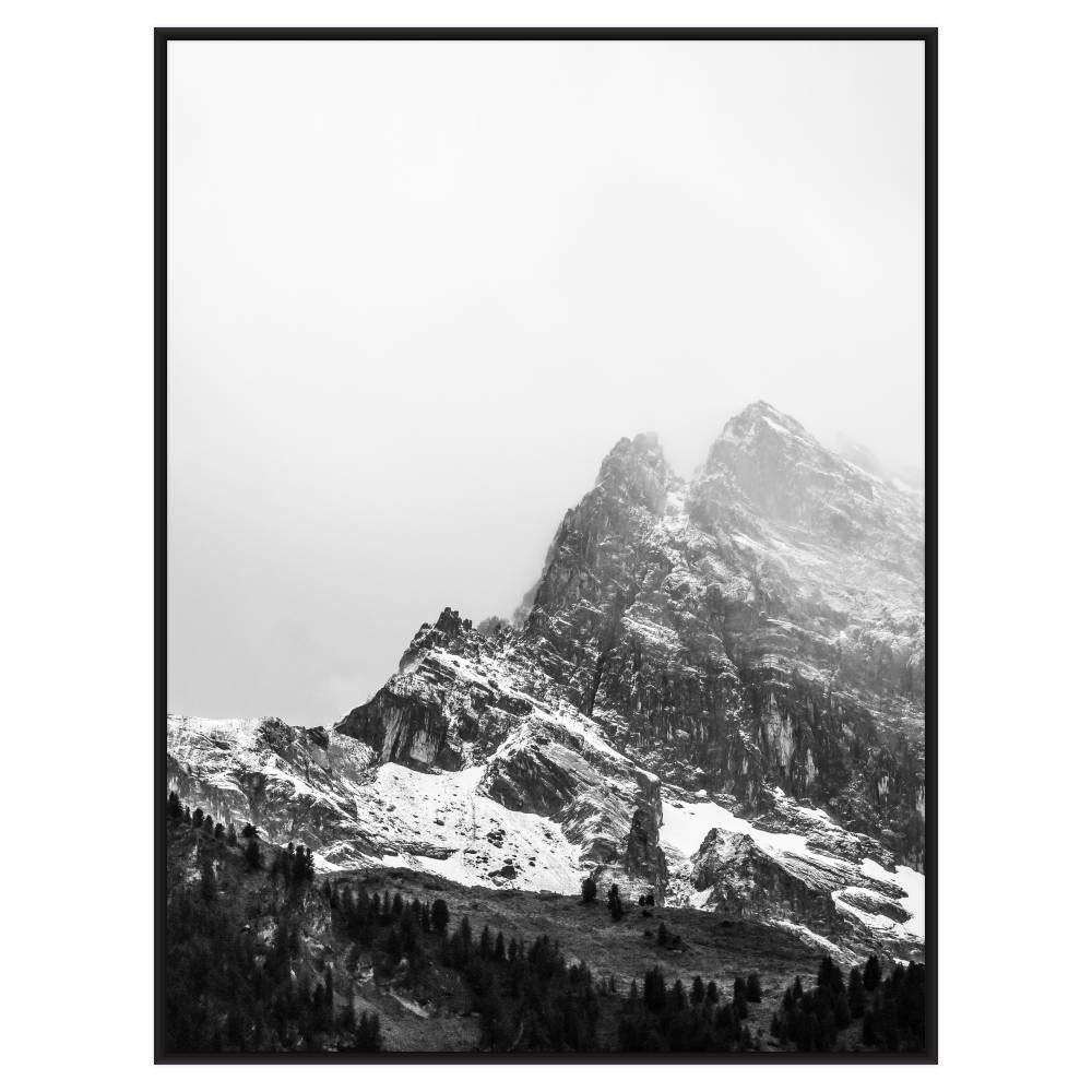 Frame It Easy 21 1/2 x 28 1/2 Satin Black Metal Frame Profile #93