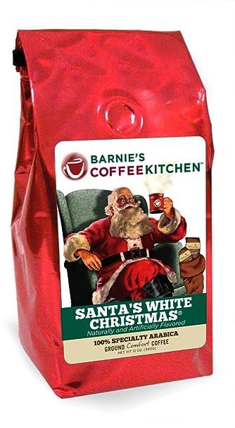 barnies coffeekitchen santas white christmas coffee seasonal packaging 12oz ground