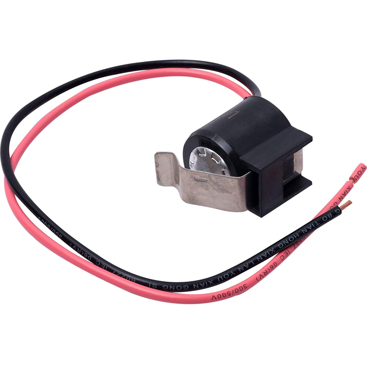 W10225581 Refrigerator Bimetal Defrost Thermostat for Whirlpool KitchenAid Kenmore Replace WPW10225581, AP6017375, PS11750673, PS237680,2321799