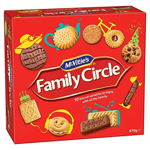 Family Circle Mcvities Assorted Biscuits 720G (1 Pack) by Family Circle