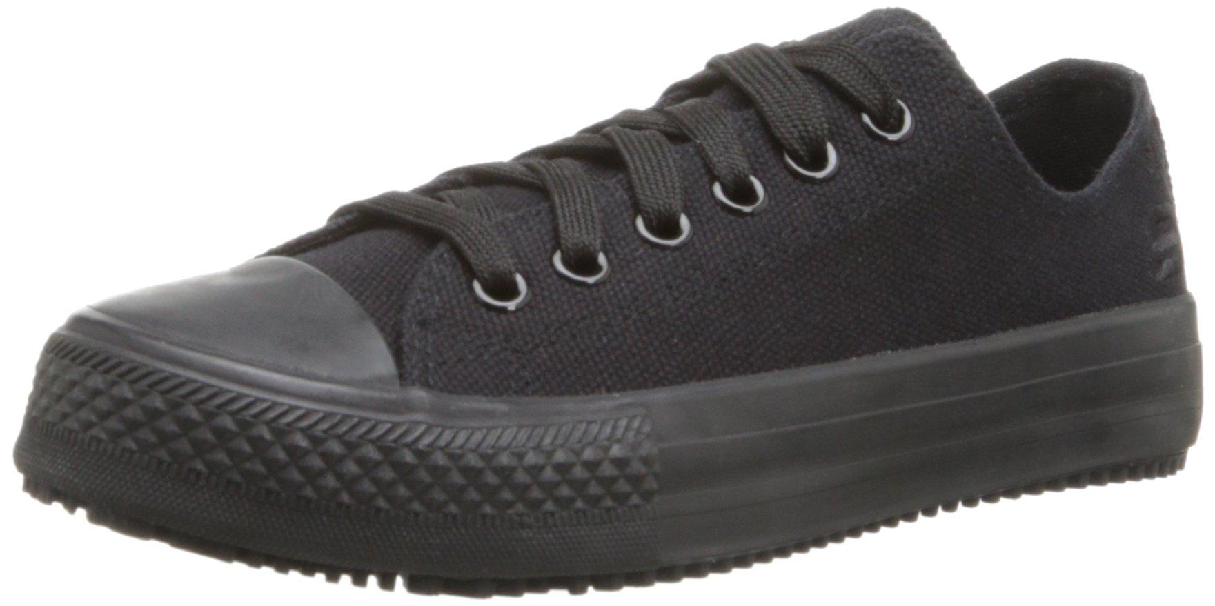 Skechers for Work Women's Gibson Arias Slip Resistant Work Shoe, Black, 10 M US
