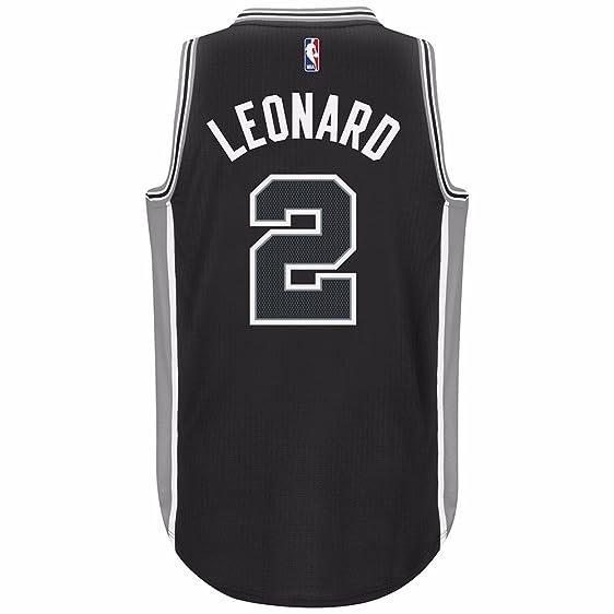512af6a9f ... Adidas NBA Kawhi Leonard San Antonio Spurs Black Swingman Jersey (3XL)  ...