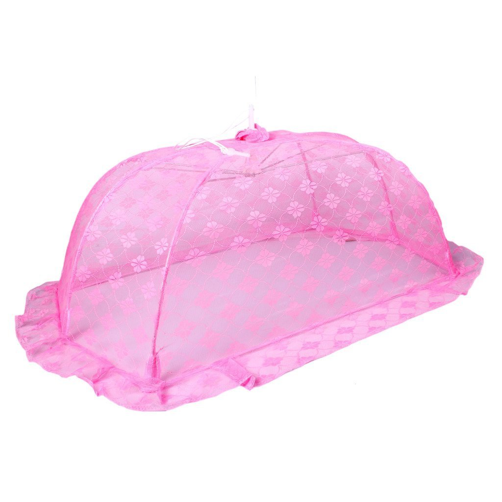 Buy Shahji Creation Baby Floral Crochet Folding Mosquito Net ... for Folding Mosquito Net For Baby  55dqh