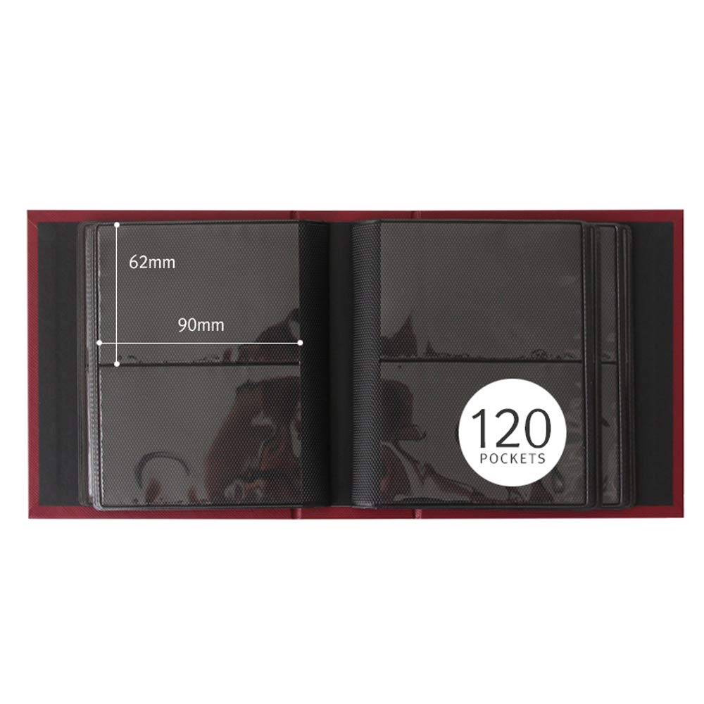 Prism Mini Polaroid Photo Album Instant Fujifilm Instax Camera 120 Pockets /& Name Card Green