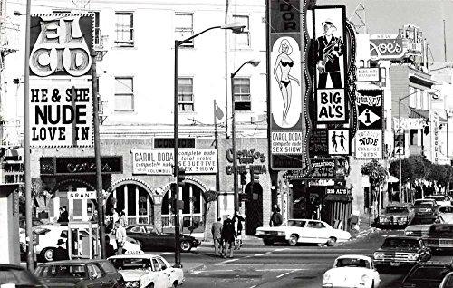San Francisco California Street Scene Real Photo Vintage Postcard ()