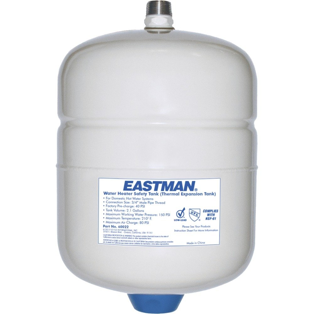 Eastman 60022 Thermal Expansion Tank, 2 Gallon, White by Eastman