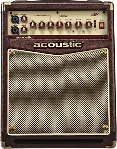 Acoustic A20 Guitar Amplifier Brown product image