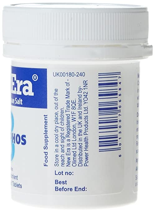 Amazon.com: New Era Number 8 Mag. Phos. Tablets - by New Era: Health & Personal Care