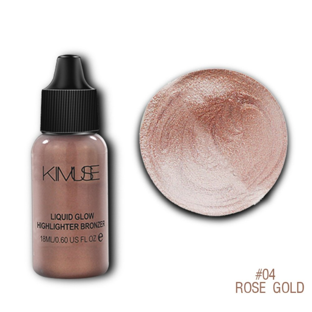 Allbesta Liquid Highlighter Bronzer Glow Shimmer Make-Up Base Contour Concealer Illuminator