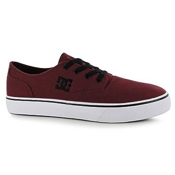 DC Shoes flash2 Skate Zapatos Para Hombre Casual Burdeos Zapatillas Zapatillas, Granate: Amazon.es: Zapatos y complementos