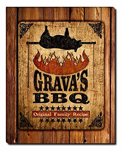 gravas-barbecue-gallery-wrapped-canvas-print