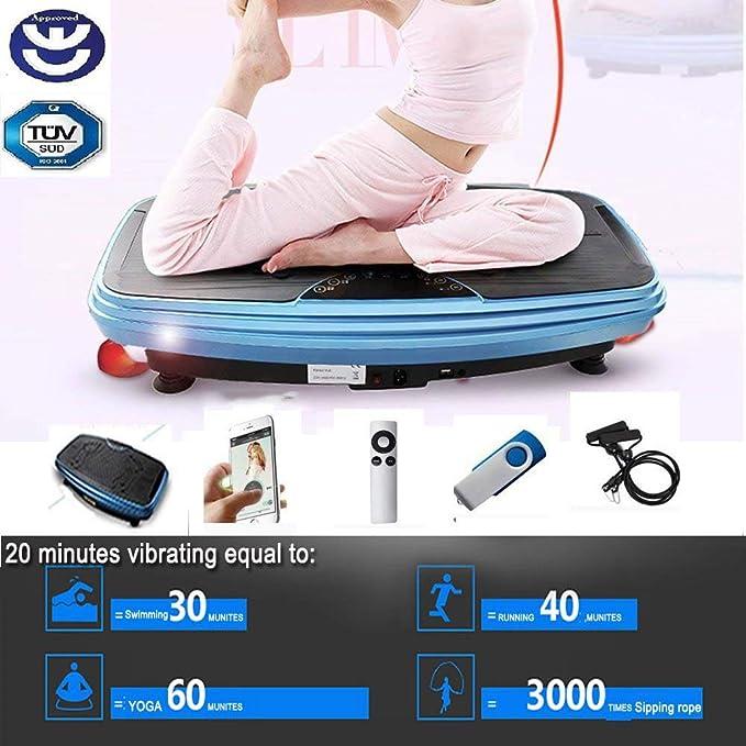 BU-KO Fitness Motor Power Vibration Plate | Oscilación y Movimiento ...