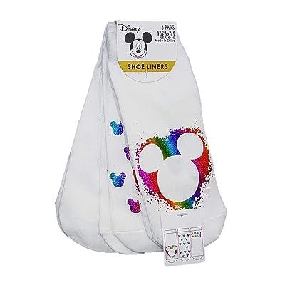 -Disney - Calcetines cortos - para mujer Blanco blanco 32-36: Ropa y accesorios