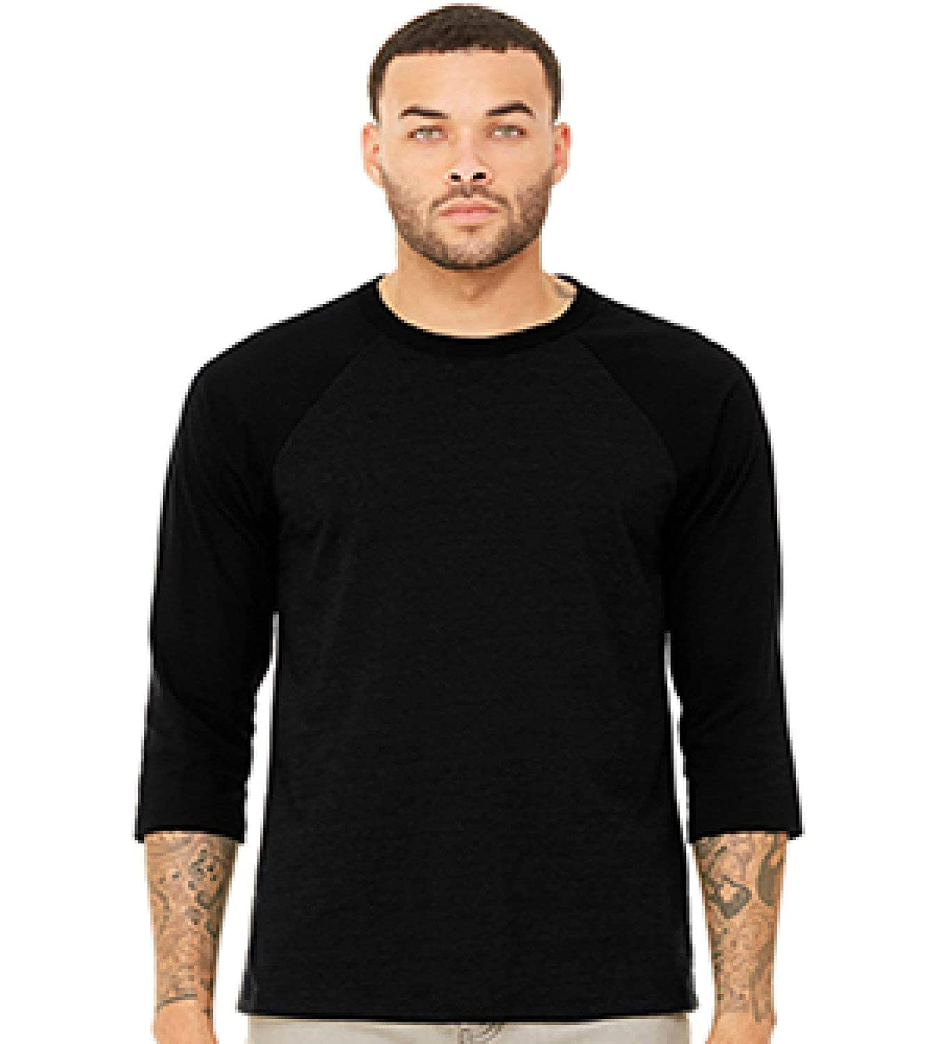 4960ede4f53 Bella Canvas Unisex Jersey 3/4 Sleeve Baseball Tee at Amazon Men's Clothing  store:
