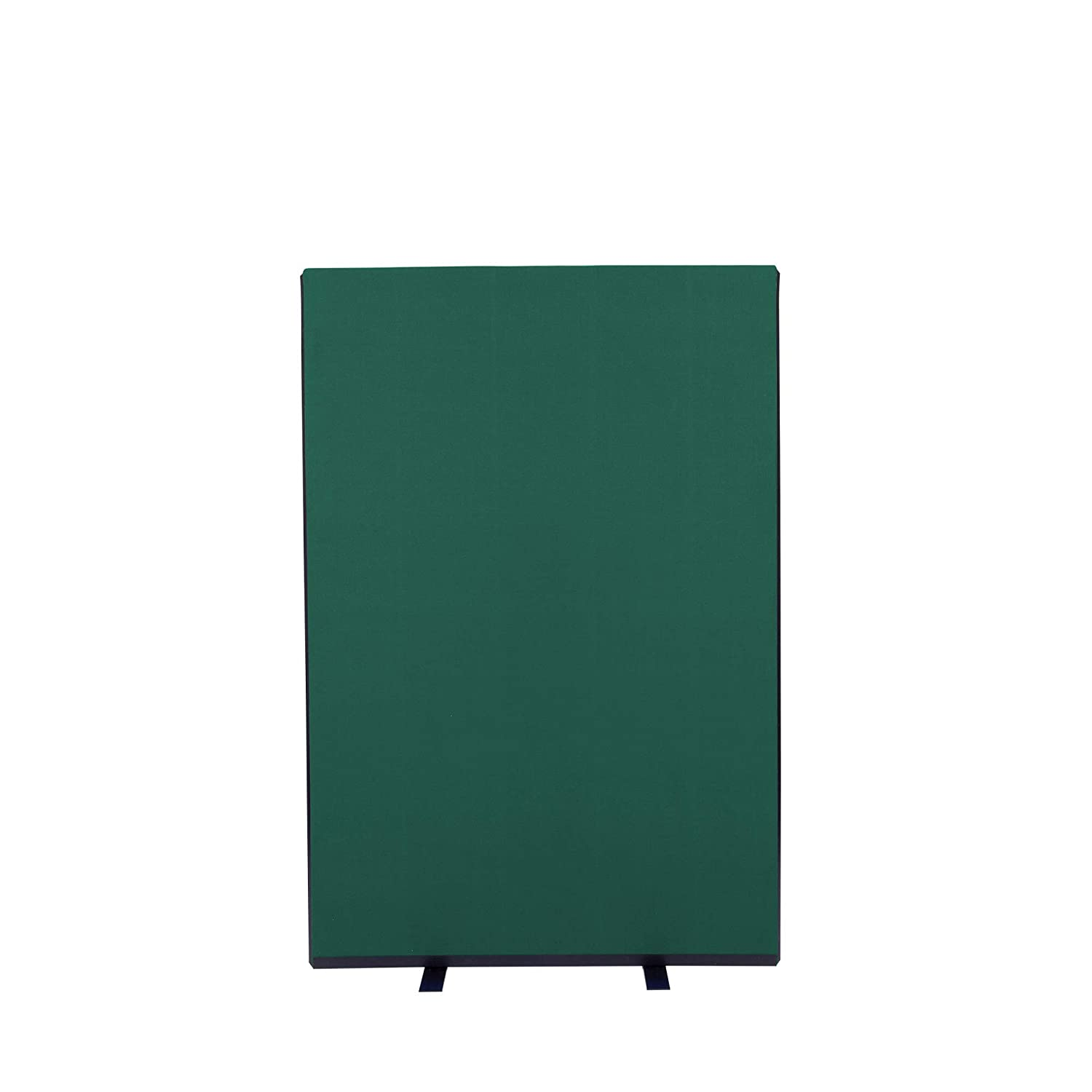 Bottle Green 1000mm W x 1500mm H Panelwarehouse 1000mm W x 1500mm H Free Standing Office Partition Screens Room Divider Navy blueee Nyloop Fabric