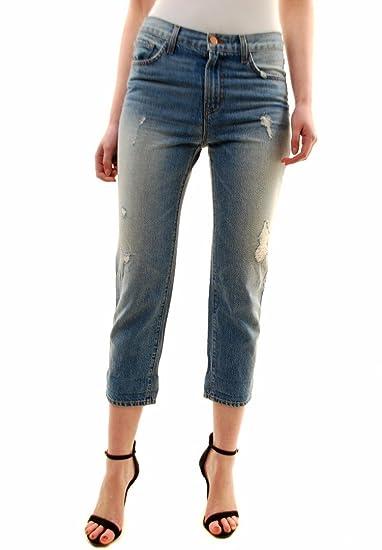 ed4ab18d36b J Brand Women s Ace Cropped Boyfriend Jeans 1265O271 Illume 25  Amazon.co.uk   Clothing
