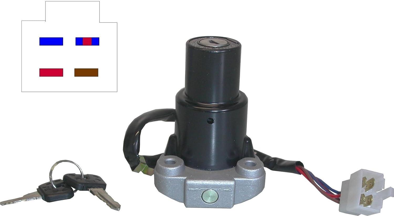Yamaha FZR 1000 RU interruptor de encendido 1991-93 EXUP Single Headlight