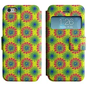 LEOCASE flor linda Funda Carcasa Cuero Tapa Case Para Apple iPhone 5 / 5S No.1003741