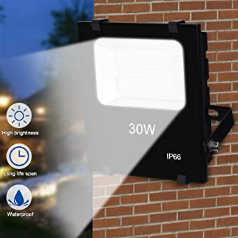 LED Foco exterior | Foco proyector led | Foco impermeable ...