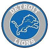FANMATS 17958 NFL Detroit Lions Roundel Mat