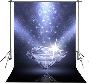 6.5x10ft Background Crystal Diamond Photography Backdrop Wedding Photo Studio Gift Props GEFU782