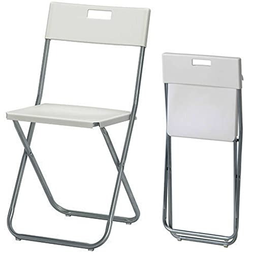 Folding Chair, White: K Hagberg/M Hagberg