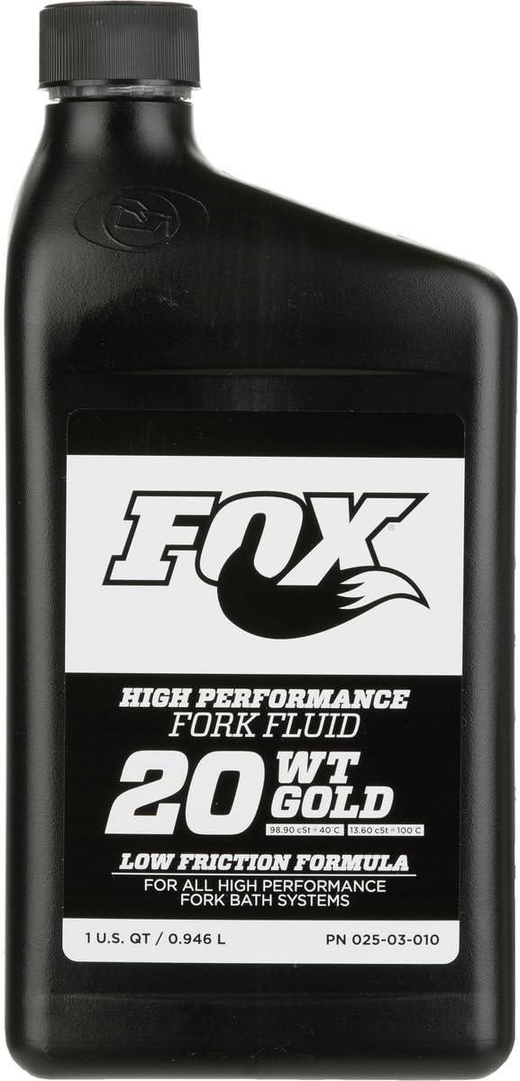 Aceite Fox Suspension Fluid 20wt Gold 0.95lts: Amazon.es: Deportes y aire libre