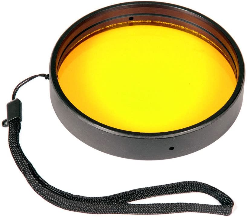 Yellow Ikelite Barrier Filter 3.9
