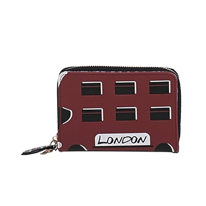 Parfois - Cartera London To Paris - Mujeres - Tallas S - Rojo: Amazon.es: Ropa y accesorios