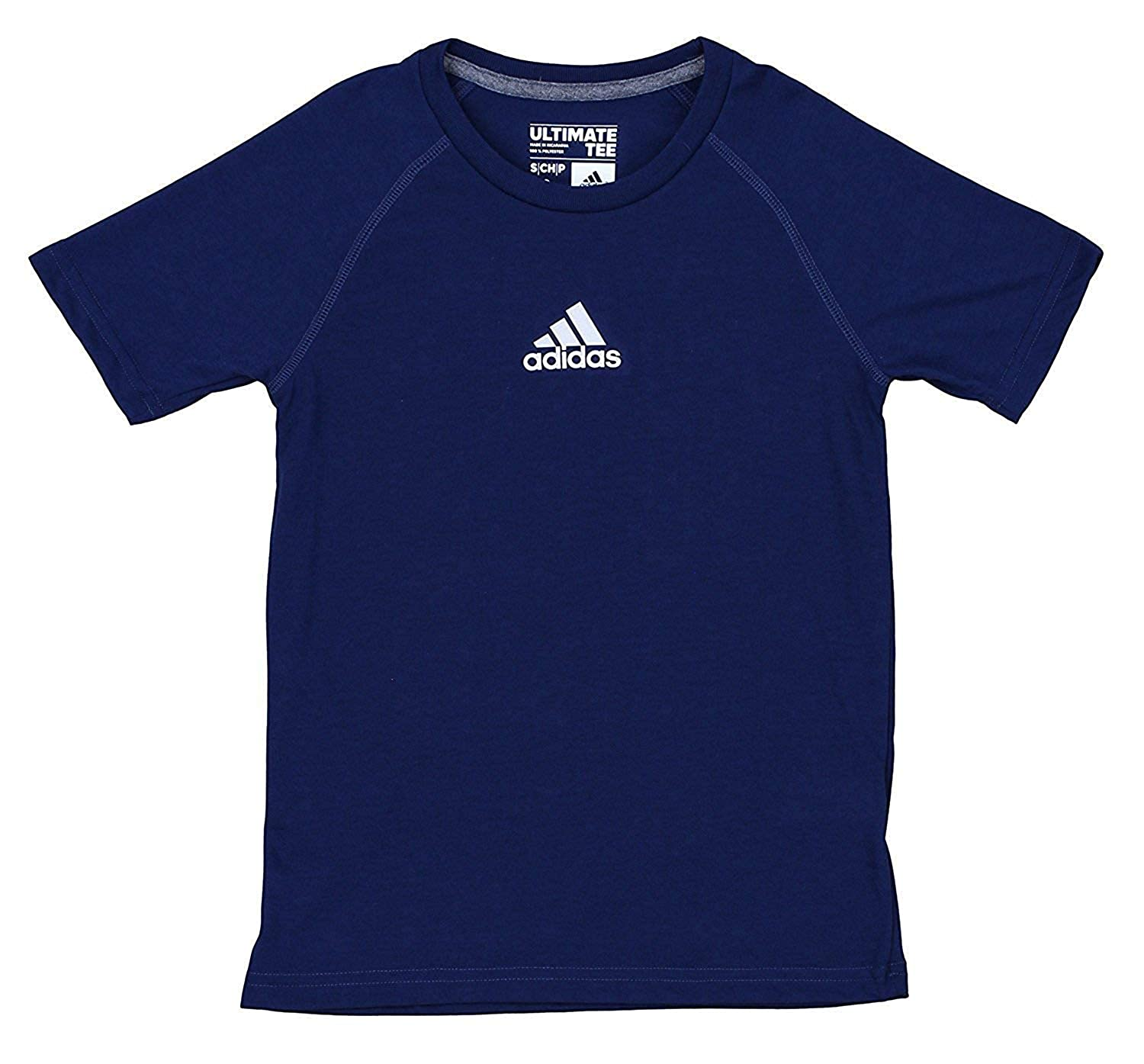 adidas Boys' Climalite Short Sleeve Graphic Tee, Color Options