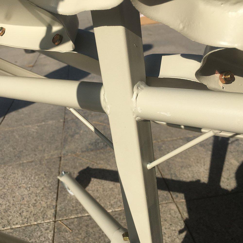 TOPQSC Horno Solar Cocina Solar Spotlight Estufa solar parabólica portátil de 1, 5 m de diámetro y 1800 W con mayor eficiencia: Amazon.es: Jardín