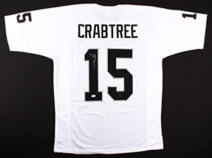 online retailer be190 06e89 Michael Crabtree #15 Signed Oakland Raiders Jersey (JSA COA ...