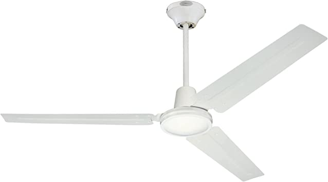 "56/"" 3 Blade Ceiling Fan Industrial Garage Warehouse Shop Garage Restaurant Sleek"