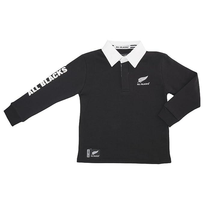Oficial de Rugby All Blacks niños con capucha - Edad 3-10 - 9-10 ...