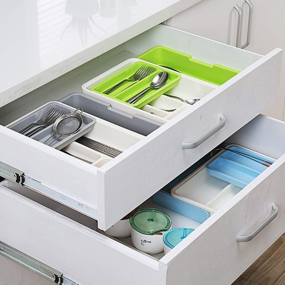 per separare i cucchiai organizer espandibile per posate vassoio portaposate organizer regolabile per cassetti da cucina FP