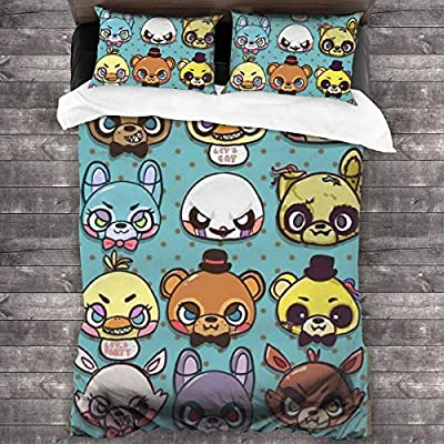 FNAF Fiv-e Nig-hts at Fre-ddyS 3-Piece Bedding Set 86