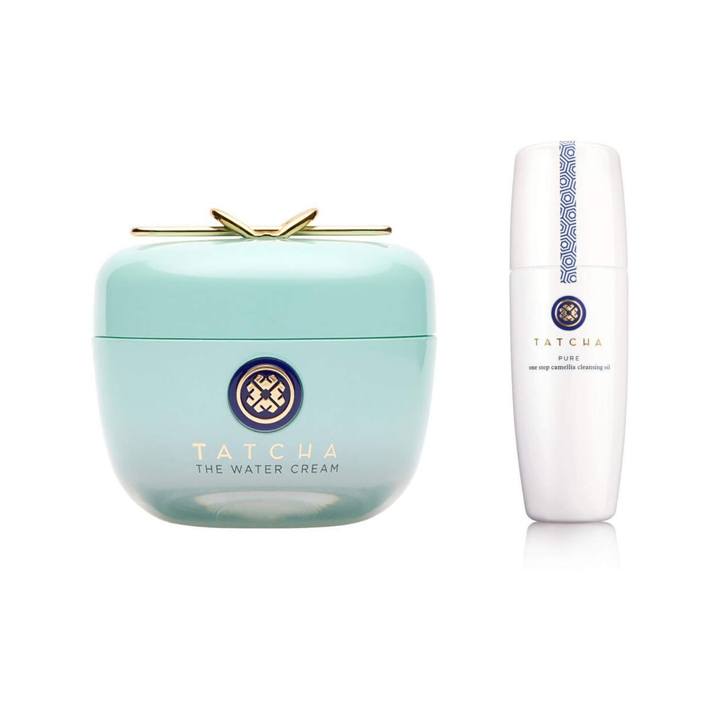 Tatcha Bundle Set - Water Cream & Camelia Cleansing Oil