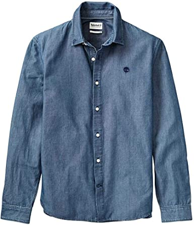 Timberland Mumford River Modern Chambray Classic Slim XXL: Amazon.es: Ropa y accesorios