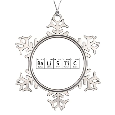 Amazon bellous tree branch decoration balistic chemistry bellous tree branch decoration balistic chemistry periodic table words elements make your own snowflake ornaments urtaz Choice Image