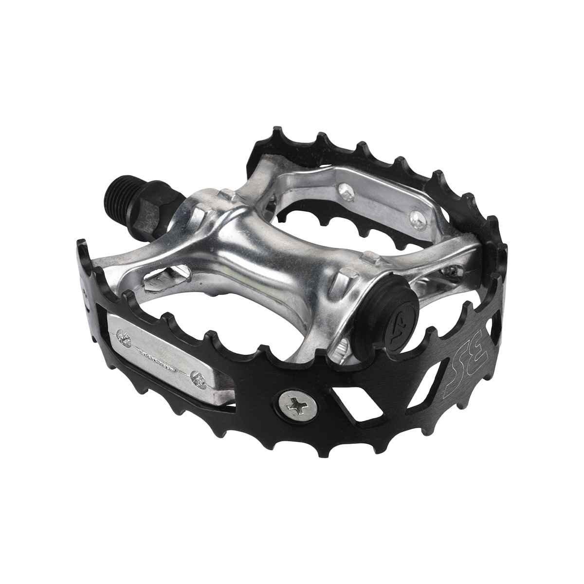 Se Bear Trap BMXバイクペダル B0747T3QVC ブラック ブラック