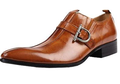 En Ville Lacet Marron Chaussures De Hommes Cuir Habillé NoirAmazon JuTKcF13l