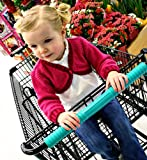 Shopping Cart Cover by Klean Grips | Antibacterial Grocery Baby Gear Buggy Trolley-Teal Protect Your Kids