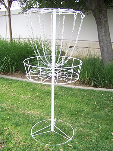 Petra Sports Steel Disc Golf Basket. Portable Practice Target. by Petra Sports